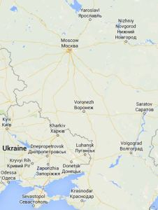 Voronezh and the Ukrainian Border
