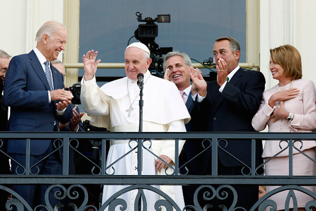 Pope Francis Addresses Joint Meeting Of U.S. Congress