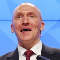 Trump's ex-adviser Carter Page gives presentation in Moscow